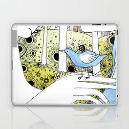 Spring-love-bird-arms-sheandhim Laptop & iPad Skin
