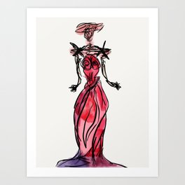 Doll of Paramour Art Print