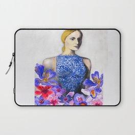Valentino Blue Laptop Sleeve