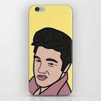 elvis presley iPhone & iPod Skins featuring Elvis Presley by agr_artwork