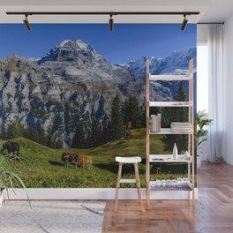 Eiger Mönch Jungfrau Wall Mural