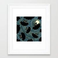 bats Framed Art Prints featuring Bats by Rceeh