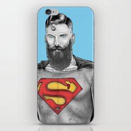 Super Bearded Reeve iPhone Skin
