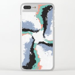 Flying Cross Clear iPhone Case