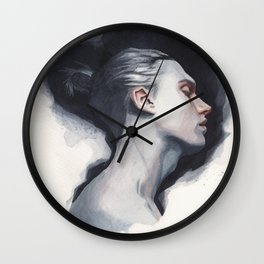 Small watercolor 01 Wall Clock