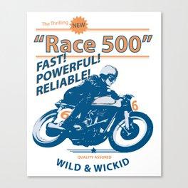 Race 500 Canvas Print