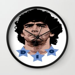 Maradona - D10 Wall Clock
