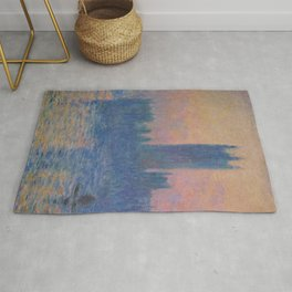 Monet - The Houses of Parliament Rug