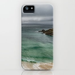 Stormy Cornish morning. iPhone Case