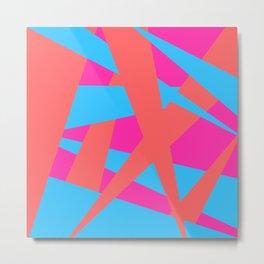 Geometric abstract Metal Print