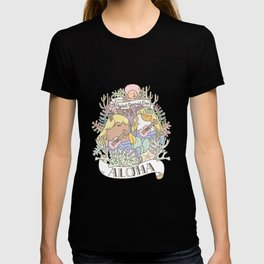 Rodent Mermaid Duo T-shirt