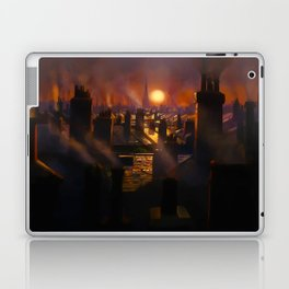 Mary Poppins Rooftop Sunset Laptop & iPad Skin