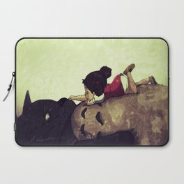 Friendship Never Ends Laptop Sleeve