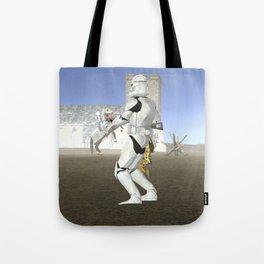War Stars: Super Trooper Tote Bag
