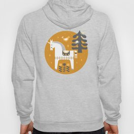 Yellow + Gray Fairy Tale Hoody