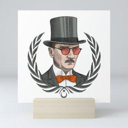Mustafa Kemal Atatürk Mini Art Print