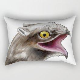 Potoo gryphon Rectangular Pillow