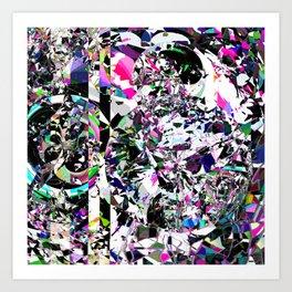 Worlds Collide Art Print