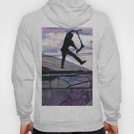 Deck Grab Champion - Stunt Scooter Art Hoody