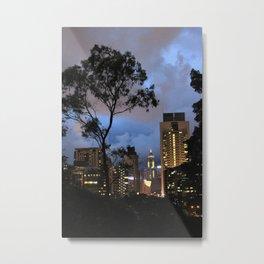 Hong Kong II Metal Print