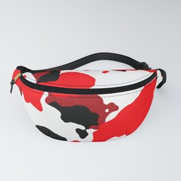 TCR - Camo print-Red Fanny Pack
