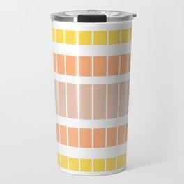 Warm rectangles Travel Mug