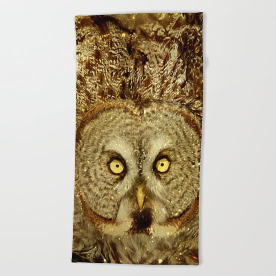 Queen of the night Beach Towel