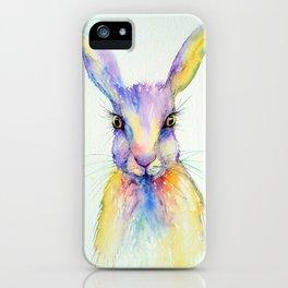 Hare Art Print iPhone Case