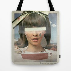 Tears In The Typing Pool   Collage Tote Bag