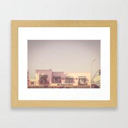 California, Los Angeles, beach, seaside, ocean, surf, downtown, Cali, SoCal, west coast Framed Art Print