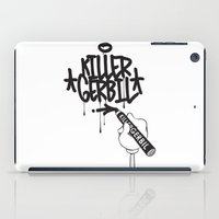writer iPad Cases featuring Writer by The Killer Gerbil