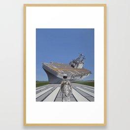 The Runway Framed Art Print