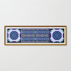 Deco Garden Canvas Print