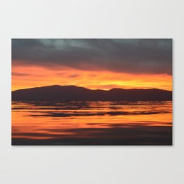 Spinal Sunset Canvas Print