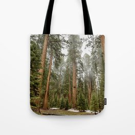 Sequoias in the Fog Tote Bag