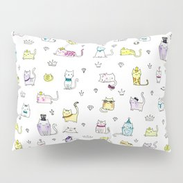 Cats in Couture Pillow Sham