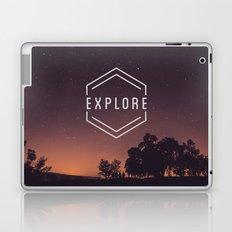 EXPLORE THE WORLD Laptop & iPad Skin