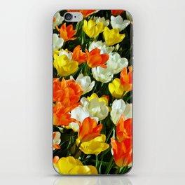 White Orange and Yellow, Oh My iPhone Skin