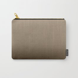 Brown Ombre Carry-All Pouch