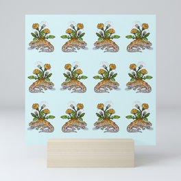 Saur - Leopard Gecko Mini Art Print