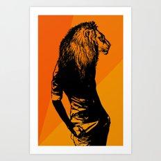 Iron Lion Zion Art Print