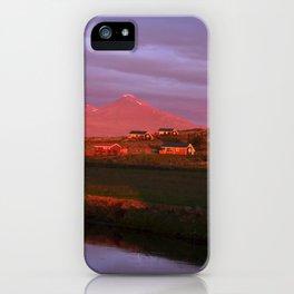 Midnight Sun II. iPhone Case