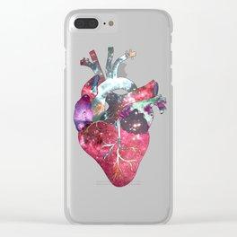 Superstar Heart Clear iPhone Case