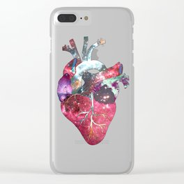 Superstar Heart Clear iPhone Case