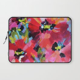 Wildflowers and Poppies Laptop Sleeve