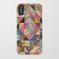 fabric iPhone & iPod Cases featuring Grandma's Quilt by Rachel Caldwell