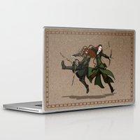 legolas Laptop & iPad Skins featuring Pure Elven Elegance by wolfanita