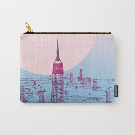 Sun In The City Skyline Design Carry-All Pouch