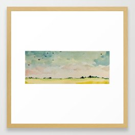 Dreaming of the Countryside Framed Art Print
