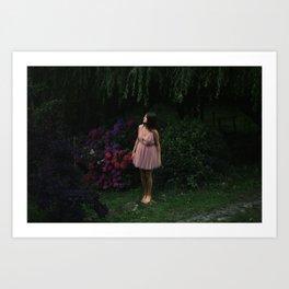 Petite fille Art Print